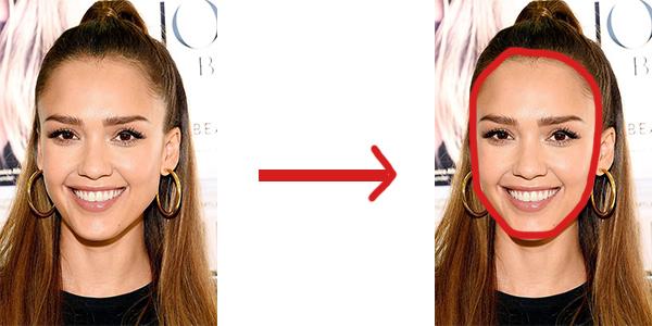 determine your face shape