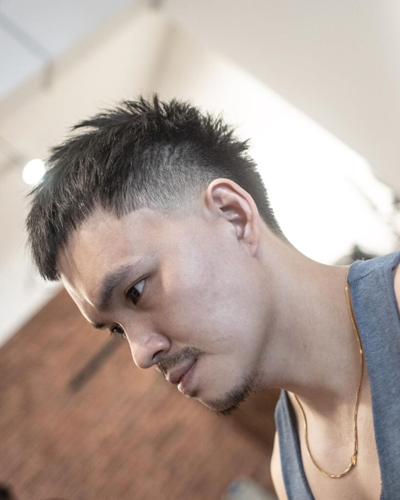 Taper Haircuts + Short Textured