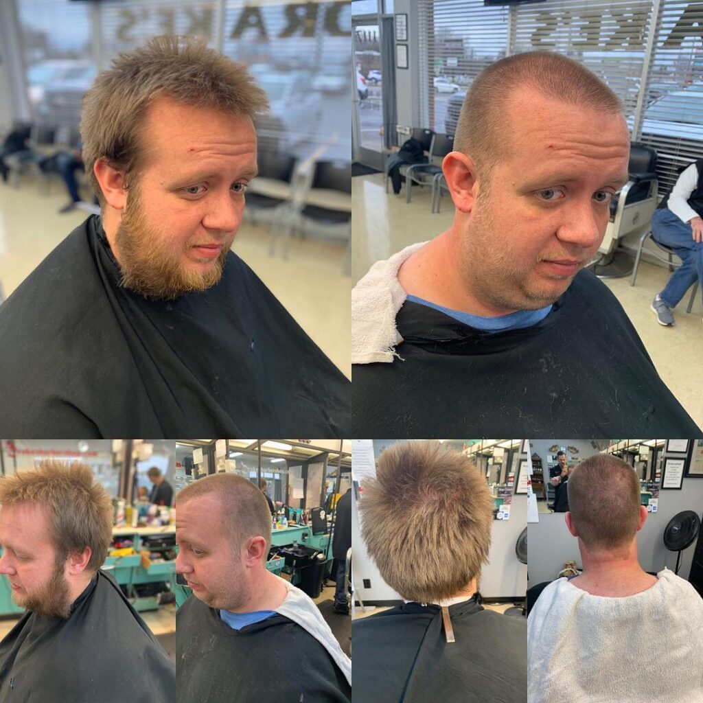 Burr Men's haircuts