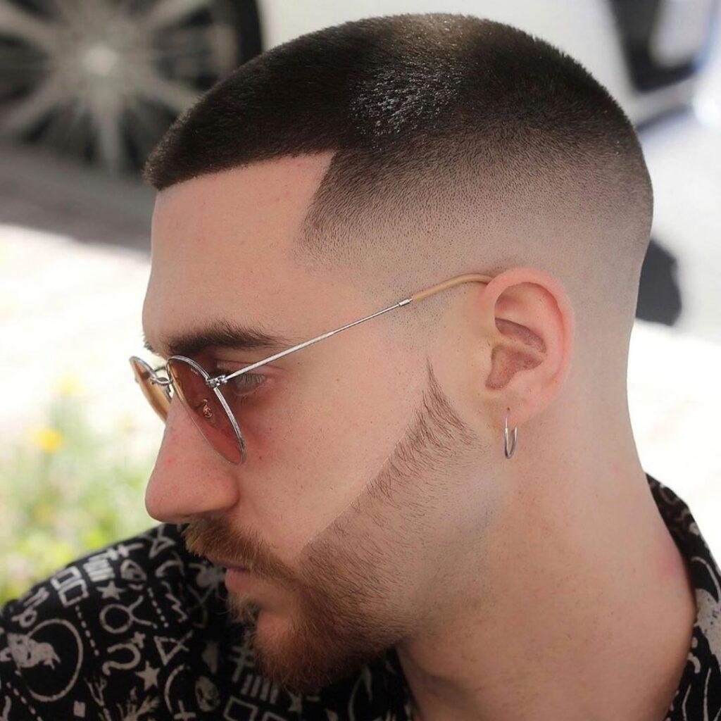 Buzz Cut + High Skin Fade Haircuts For Men