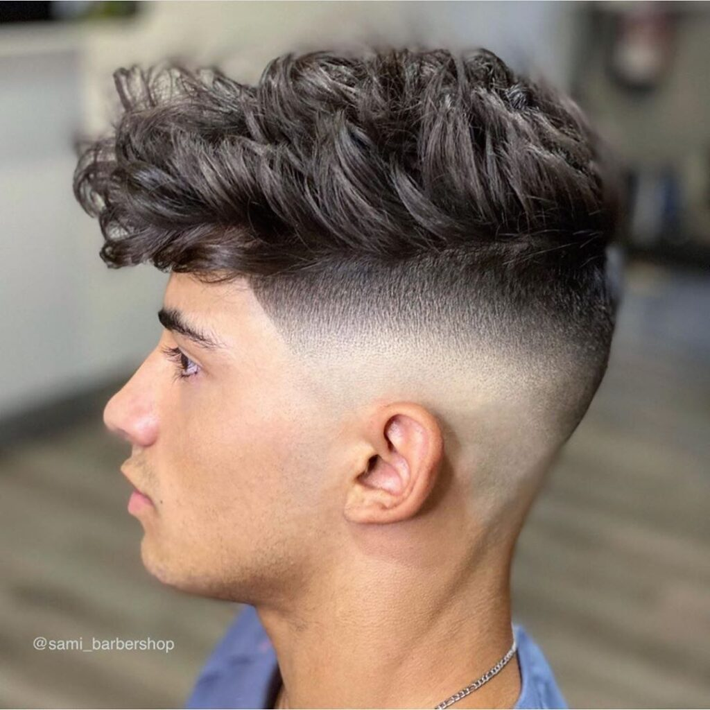 Undercut  + Messy On Top haircuts for men