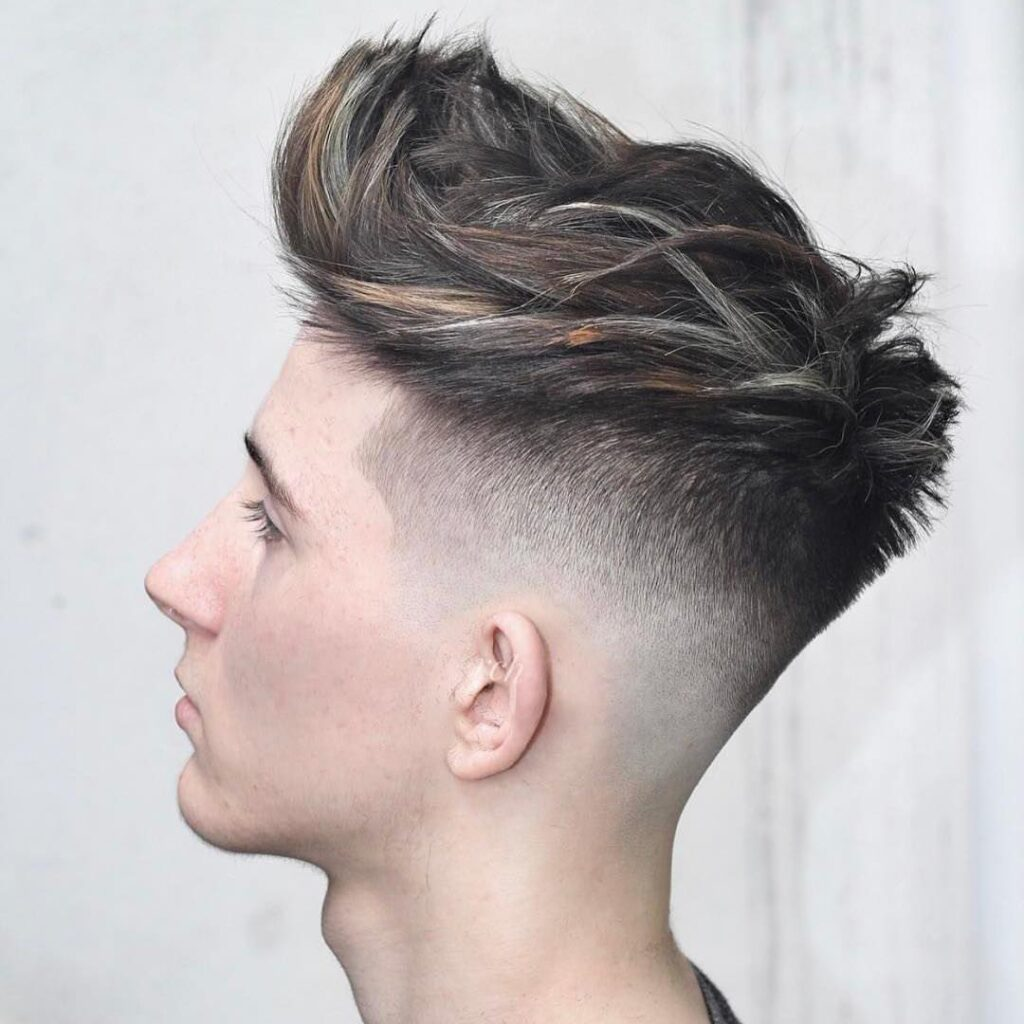 Disconnected Undercut haircuts for men