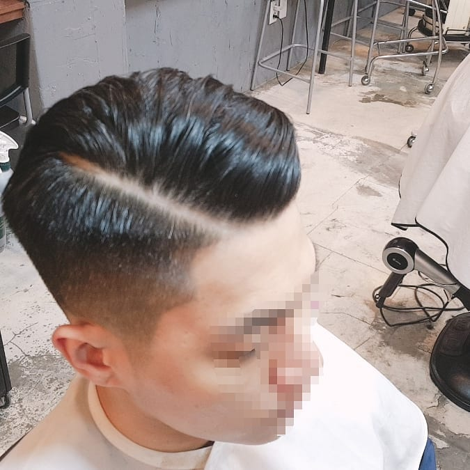 Side part Undercut Haircuts