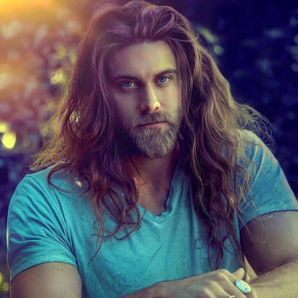 Long Hairstyles On Shoulder Haircuts For Men
