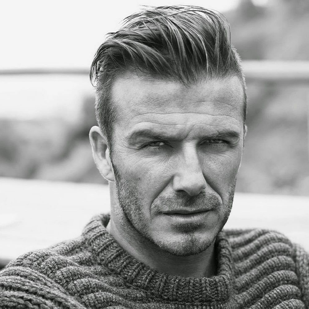 Disconnected Quiff Haircuts For Men