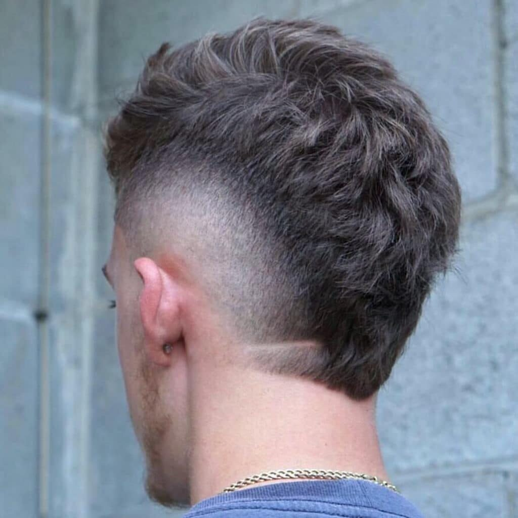 Mohawk Fade + Textured haircuts for men